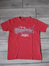 rotes T-Shirt mit Druck Gr. M