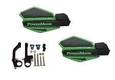 Powermadd Star Series Handguards Guards Green / Black Snowmobile Ski Doo Summit