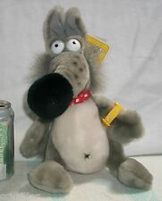 Vintage 1984 DAKIN Fun Farm PAVLOV Plush Stuffed DOG with TAGS & WATCH