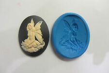 FAIRY CAMEO silicone mould sugar craft cake decorating fimo cernit cake pop