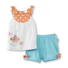 Finding Nemo Top & Shorts Set- Polka Dot- 6/9 Months NWT Disney Baby Girl