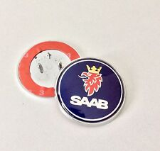 SAAB BONNET BADGE EMBLEM 93 95 9-3 9-5 REPLACEMENT NEW