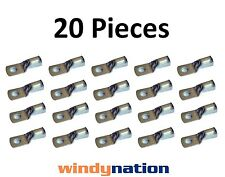 (20) 6 GAUGE 6 AWG X 3/8 in TINNED COPPER LUG BATTERY CABLE CONNECTOR TERMINAL