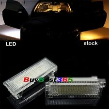 2x Error Free LED Footwell Door step Courtesy Lights for BMW 1 3 5 6 7 Z4 X5 X6