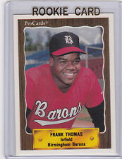FRANK THOMAS Birmingham Barons 1990 ROOKIE CARD Minor League BASEBALL RC!