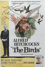 TIPPI HEDREN Signed 12x8 Photo THE BIRDS HITCHCOCK Proof COA