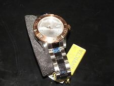NEW NWT *INVICTA* Men Pro Diver 2-Tone Rose Gold/Silver Watch 14049 Need Battery