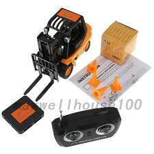 Mini Toy Forklift Fork Lift Radio Remote Control Truck Car Kid Toys  Creative