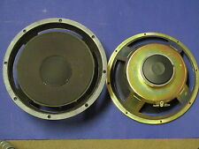 "PAIR 10-1/8"" WOOFERS FROM EPI MAGNUS A10 SPEAKERS 4 OHMS NEED NEW FOAM SURROUNDS"