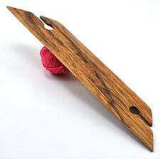 Handcrafted Red Oak Weaving Shuttle For Inkle Loom Tablet Or Card Weaving 8""