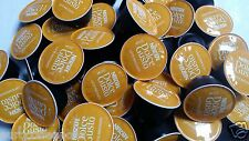 50 x Nescafe Dolce Gusto Latte Macchiato Coffee Pods Only (No Milk Pods)