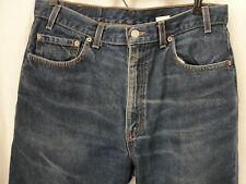 Levis 550 Blue Denim Jeans W 36 L 30 Made in USA Vintage Classic Lightly Worn #7