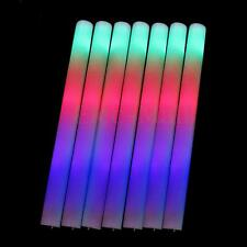 30 PCS Light Up Foam Sticks LED Wands Rally Rave Batons DJ Flashing Glow Stick