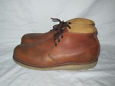 Red Wing 2595 Heritage Work Chukka Brown Leather Biker Work boots Men's Size 11