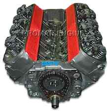 Reman Chevy Gen IV and Gen V 454 Marine 365-440HP Long Block Engine