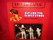 SLY AND THE FAMILY STONE Dance to the Music LP ITALY 1973 MINT-