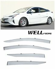For 2016 Toyota Prius WellVisors Side Window Visors Deflectors Premium Series