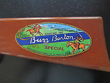 Buzz Barton No. 195 Model 32 Daisy BB Gun Paper Decal Recreation -Plymouth MI