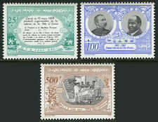 Ivory Coast 939-941, MI 1098-1100, MNH. Colony, Cent., Governor L.G.Binger 1993
