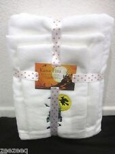 NWT KASSA FINA HALLOWEEN HAUNTED HOUSE BATH TOWEL SET OF 3