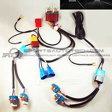 9006 9005 to H4 Conversion PnP Ceramic Relay Wiring Harness Headlight Booster