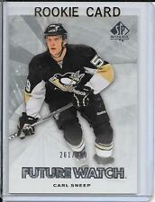 11-12 SP Authentic Carl Sneep Future Watch Rookie # 218