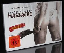 DVD SORORITY PARTY MASSACRE - FSK 18 - BITCH SLAP lässt grüssen - HORROR * NEU *