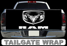 T205 DODGE Tailgate Wrap Decal Sticker Vinyl Graphic Bed Cover