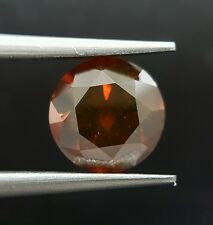 1.55 Carat Rare Huge Red Natural Diamond Brilliant Loose For Ring Dealer Price !