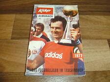 KICKER ALMANACH 1977 -- Copress Verlag // alle Tabellen-Ergebnisse-Bundesliga