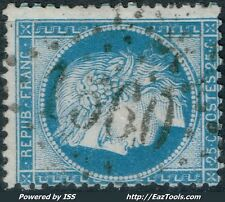 FRANCE CERES N° 60 OBLITERATION GC 1560 FOUGERES ILLE & VILAINE COTE 22,50 €