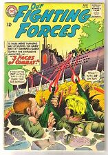 OUR FIGHTING FORCES #86 Gunner & Sarge in 3 Faces of Combat! DC Comic Book ~ VG