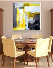 ABSTRACT  WALL ART Hand OIL PAINTING ON CANVAS (No frame)