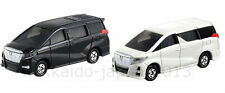 New 2pcs Set Tomica Toyota Alphard Limited Color No.12 TAKARA TOMY Japan F/S