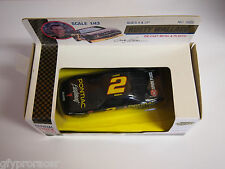 Rusty Wallace Auto Signed #2 1992 Road Champs Die-Cast Official Stock Car