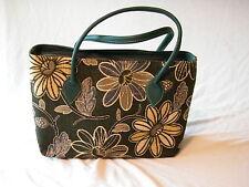 Lienzo Grande de algodón pesado día Java bolsa bolsa de compras durante la noche ideal Verde Musgo