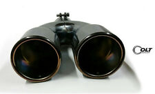 universal dual oval muffler tip AMG style look