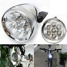 Retro Bicycle Bike Accessory Front Light Bracket Vintage 3LED Headlight Newest