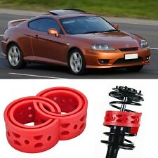 2pcs Front Shock Suspension Cushion Buffer Spring Bumper For Hyundai TIBURON