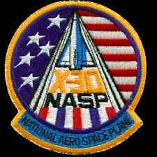 National Aero Space Plane X30 Embroidered Patch