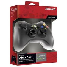 Official Microsoft Xbox 360 Wireless Controller Receiver Windows Inc USB (Black)