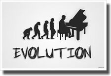 Piano Evolution - White - NEW Music POSTER