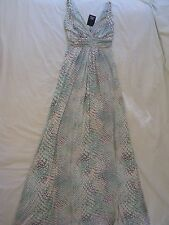 TART Collections 'Adrianna' Sz S - Pastel Snake Print Maxi Dress NWT Beautiful!