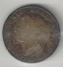 NEWFOUNDLAND,  CANADA, 1894,  10 CENTS,  SILVER,  KM#3,  VERY GOOD
