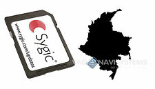 Sygic 2015 3D V13.11 WINCE 5.0, 6.0 Original - Colombia (8GB Micro SD)