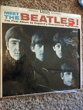 Meet The Beatles - 1965 Stereo Vinyl LP Record ST-2047 (NM-)