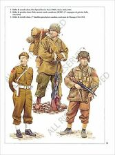 PLANCHE UNIFORMS PRINT WWII Forces armée canadienne Canadian Armed Forces Canada