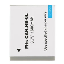 No Memery Effect 3.7V 1600MAH Replacement Li-Ion~Battery for CANON NB-6L Camera@