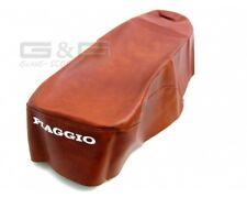 Cubierta De Asiento en Brown para Piaggio Vespa ET 2 4 ET2 ET4 50 - 125ccm