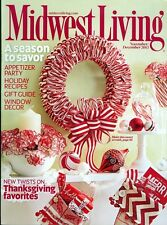 2013 Midwest Living Magazine: Thanksgiving Favorites New Twists/Candycane Wreath